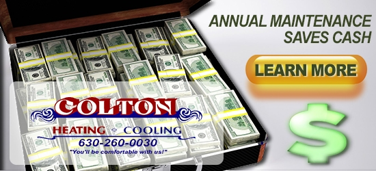 Allow Colton to service your furnace in Wheaton, IL